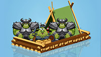 Three Orcs In A Boat