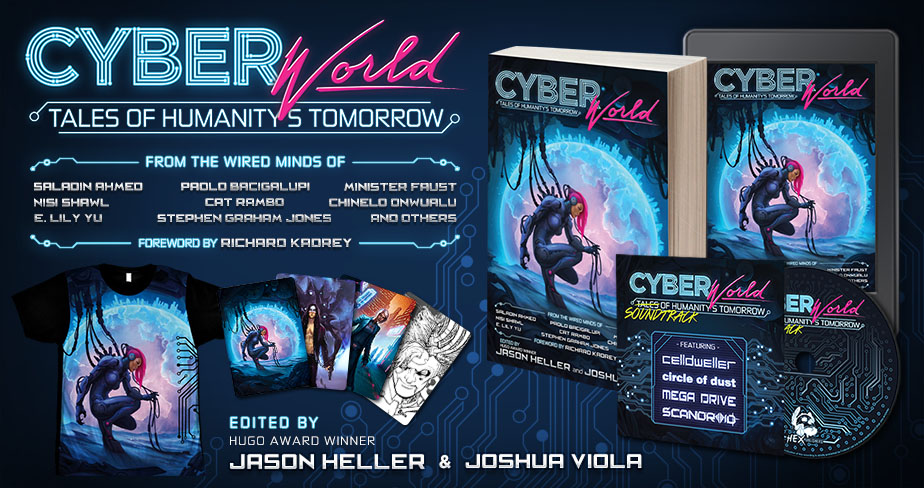 Cyber World: available now!